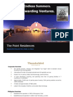 THUNDERBIRD RESORTS Investment E-Brochure