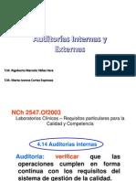 Auditoria Externas e Internas