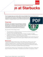 PDF Design at Starbucks