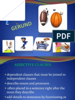 Adjective Clauses (1)