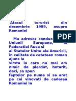 Atacul Terorist Din Decembrie 1989