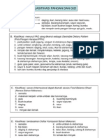 Klasifikasi pangan dan gizi di indonesia (bahan ibu friska)
