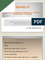 WPPSI-R
