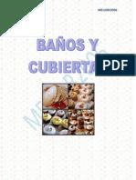 BAÑOS Y CUBIERTAS