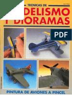 Modelismo Y Dioramas - Pintura de Aviones a Pincel
