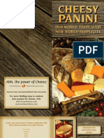 Five Delicious Cheesy Paninis