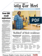 The Daily Tar Heel for April 16, 2013