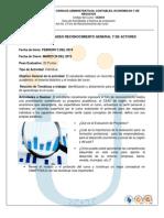 Guia de Actividades y Rubrica de Evaluacion Reconocimiento General y de Actores 2013 i