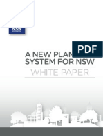 NSW Planning White Paper (Exec Summary)