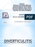Diverticulitis y Mala Abs Orc i On
