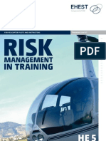 HE5 Risk Assesment in Training