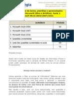 Aula 01 - Informatica- Word