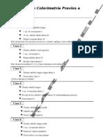 Ejercicios de Colorimetria - Previos a Evaluacion