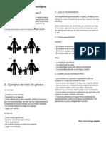 Roles de Género y Estereotipos Y ALCOHOLISMO