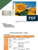Matriz de Evaluacion e Indicadores