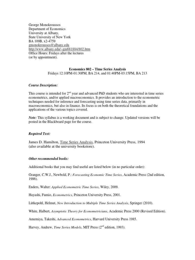 Applied Time Series Econometrics Pdf