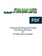 General Banking and Foreign Exchange Activities of Mazharul Islam