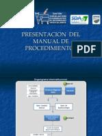 Presentacion del Manual de Procedimientos para la Atencion de Ocurrencias de Fiebre Aftosa.