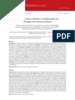 Incidência dos acidentes e complicações em 3ro molares