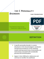 Cluster C Personality Disorders