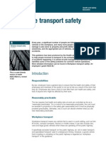 Indg199 Workplace Transport Safety (HSE)