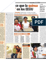 "Ana Chipana in ""EXTRA"" Bolivia Newspaper"