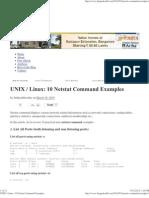 UNIX _ Linux_ 10 Netstat Command Examples