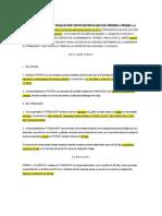Contrato Individual de Trabajo Por Tiempo Determinado Con Periodo a Prueba