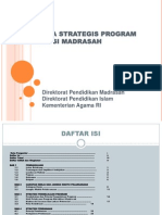 Kerangka Strategis Program Akreditasi Madrasah