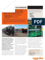 Gas Generators Flyer