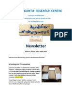 BRC Newsletter #7 August 2012 - March 2013