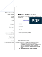 Marcoci Petrica Mihail