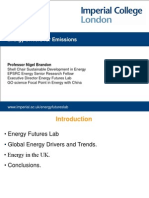 Energy Drivers for Emissions