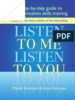 Step by Step Guide to Communication Skills Training