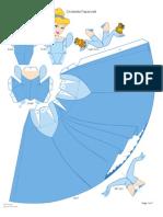 Cinderella Papercraft Printable 0210 (2)