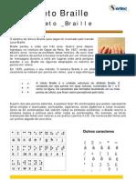 O Alfabeto Braille