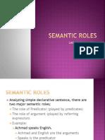 Semantic Roles1