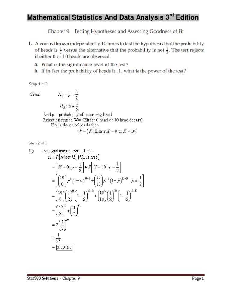 statistics and data analysis pdf