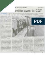 Duflot Travaille Avec La CGT