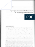 The Production of Technological Ressenblence