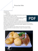 Focaccine fritte e pizze fritte