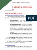 U.7.-ORIGEN Y EXPANSIÓN DEL ISLAM