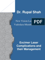 Excimer Laser Complications and Their Management