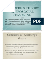 Eisenbergs Theory
