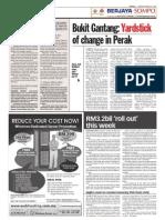 TheSun 2009-03-23 Page08 Bukit Gantang Yardstick of Change in Perak