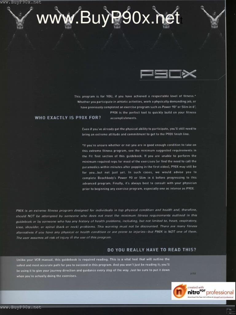 P90x workout manual Pdf Sheets Download Free music