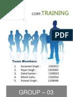 Westpack Corporation Training