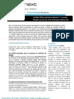 Vad.conext - Communiqué de presse 2013 - 1