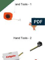 Hand Tools Identification