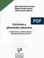 Currículo y planeación educativa